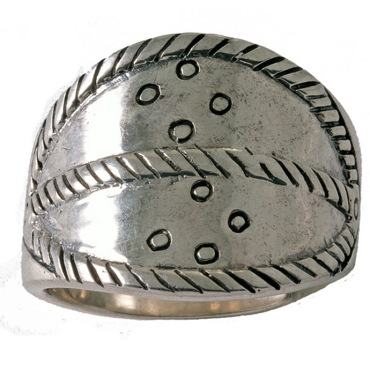 Replica Viking Ring Zilver Groot