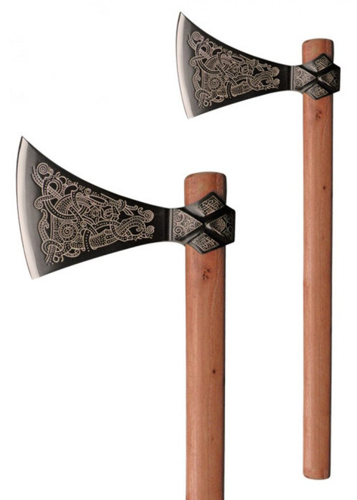 Viking Mammen Axe 10e eeuws
