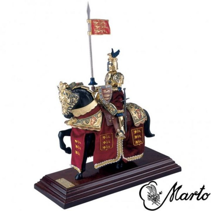 König Richard Löwenherz auf Pferd