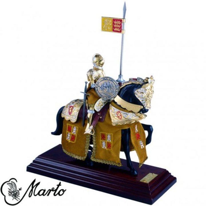 Karl V König von Spanien, Ritter auf Pferd