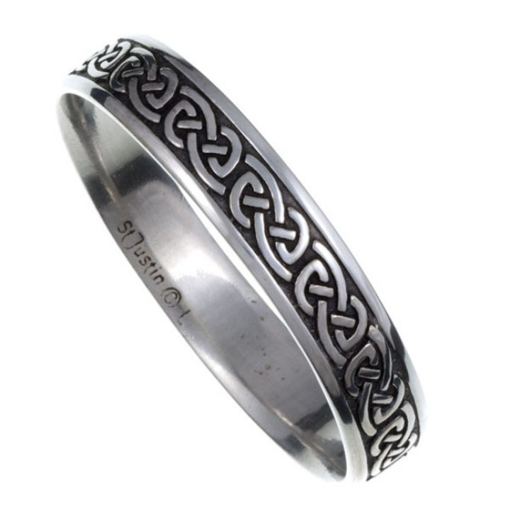 Knotwork bangle Medium SJ-TB30M