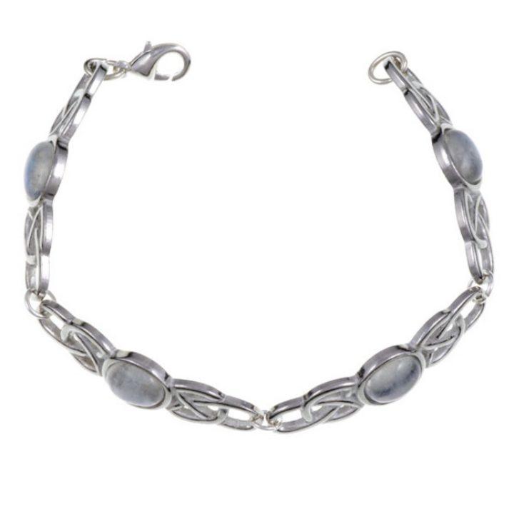 Oval Stone Bracelet, stone Moonstone SJ-TB52S