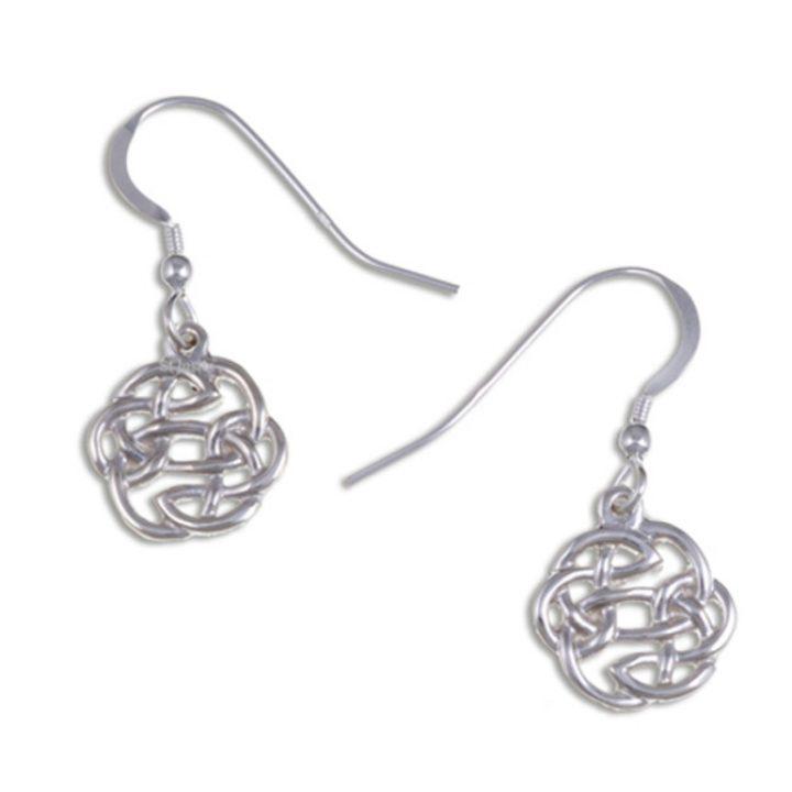 Lugh`s knot earrings silver JS-JSE02