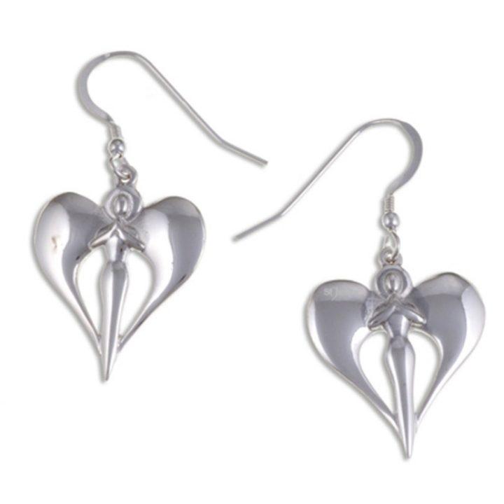 Angel drop aerrings silver SJ-SE513