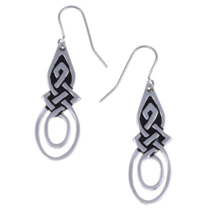 Figure of eight knot earrings SJ-PE36