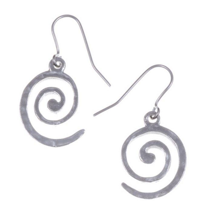 Spiral Drop Eaarings SJ-PE430