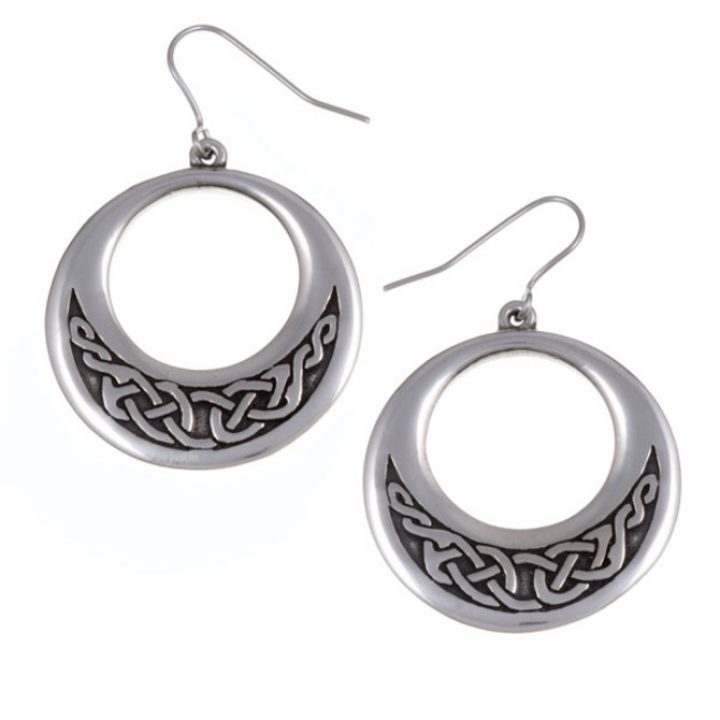 Creole Celtic earrings SJ-PE531