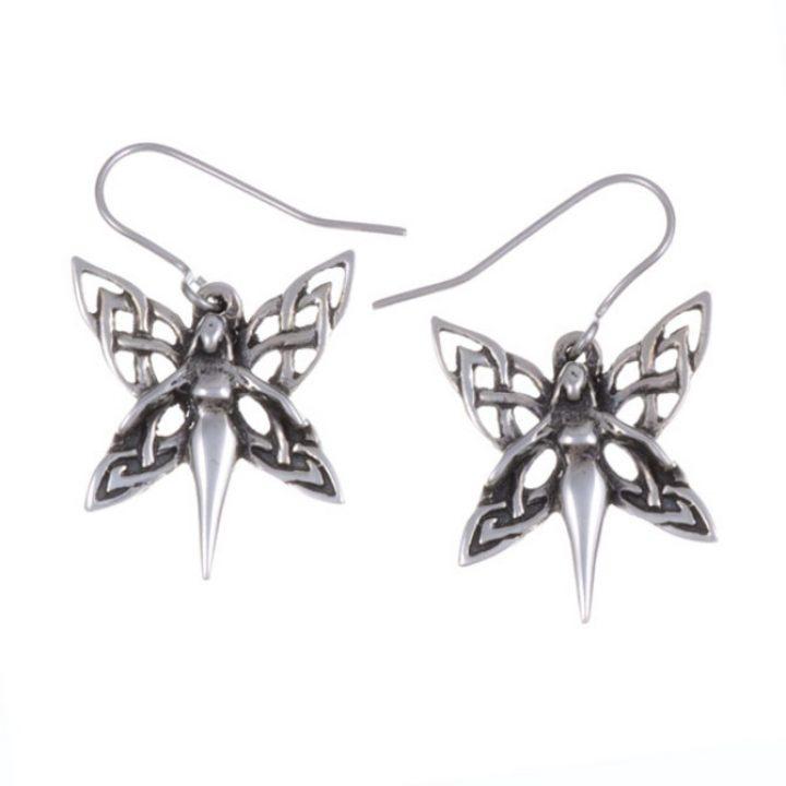 Celtic fairy drop earrings SJ-PE612