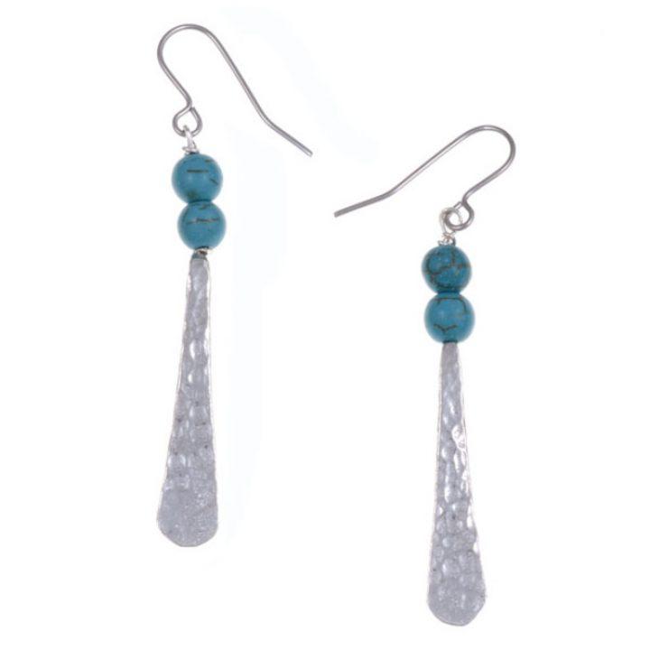 Egyptian bead drop earrings SJ-PE624T