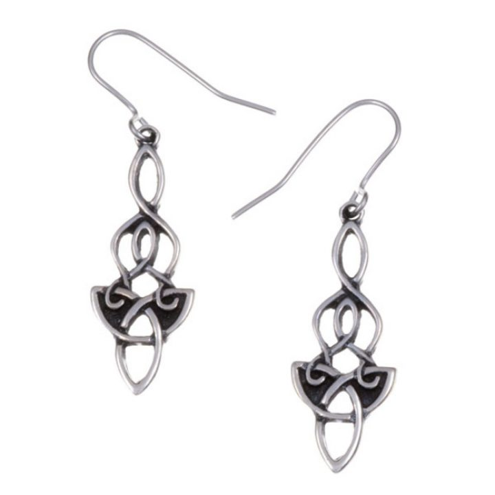 Dragon knot drop earrings SJ-PE691