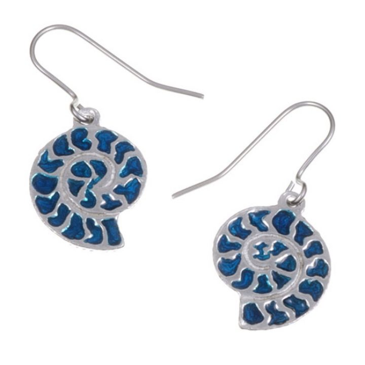 Ammonite drop Earrings SJ-PE732