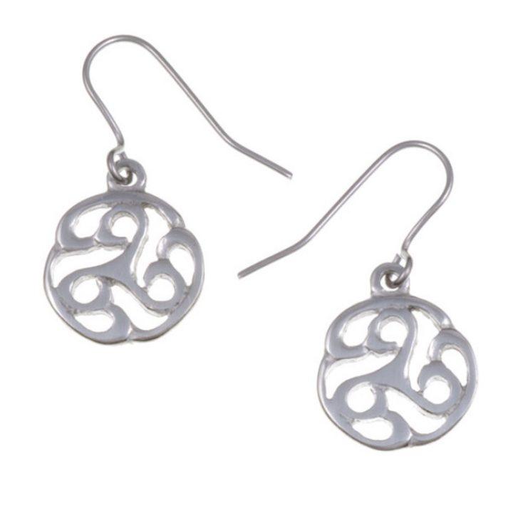 Apahida triscele drop earrings SJ-PE758