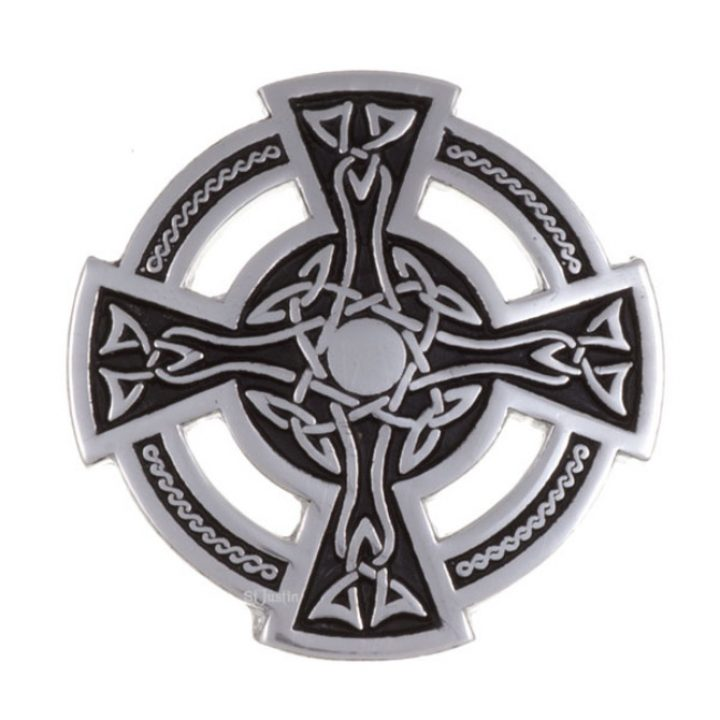 Brooche Celtic cross SJ-PB01