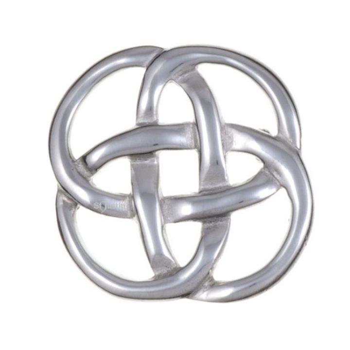 Square knot brooche SJ-PB16