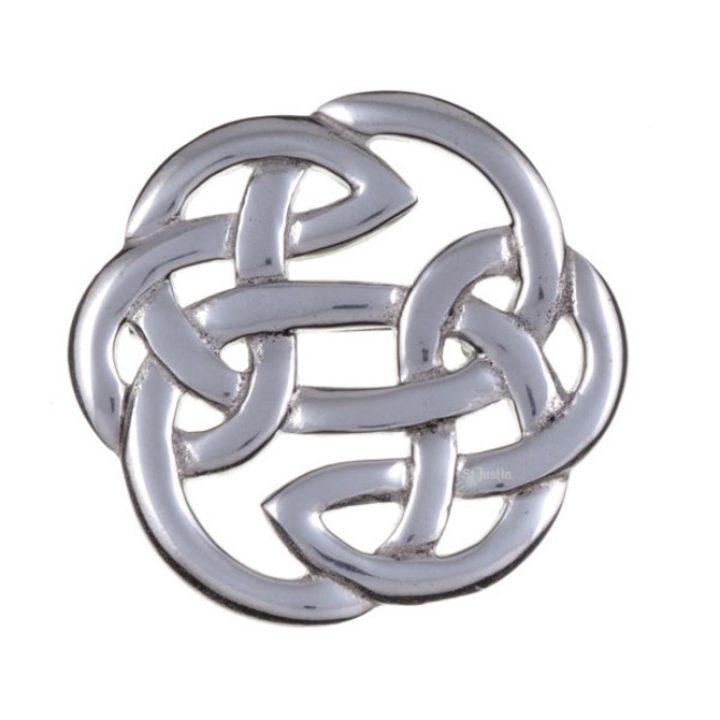 Lugh`s knot brooch meduim SJ-PB65