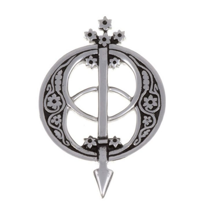 Chalice Well brooch SJ-PB85