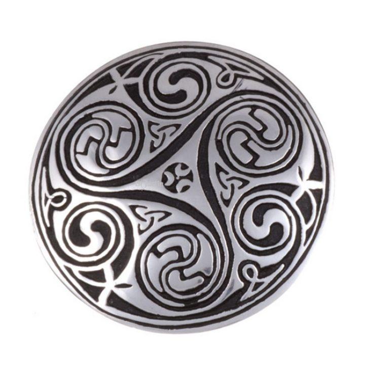 Kells key spiral brooch SJ-PB96