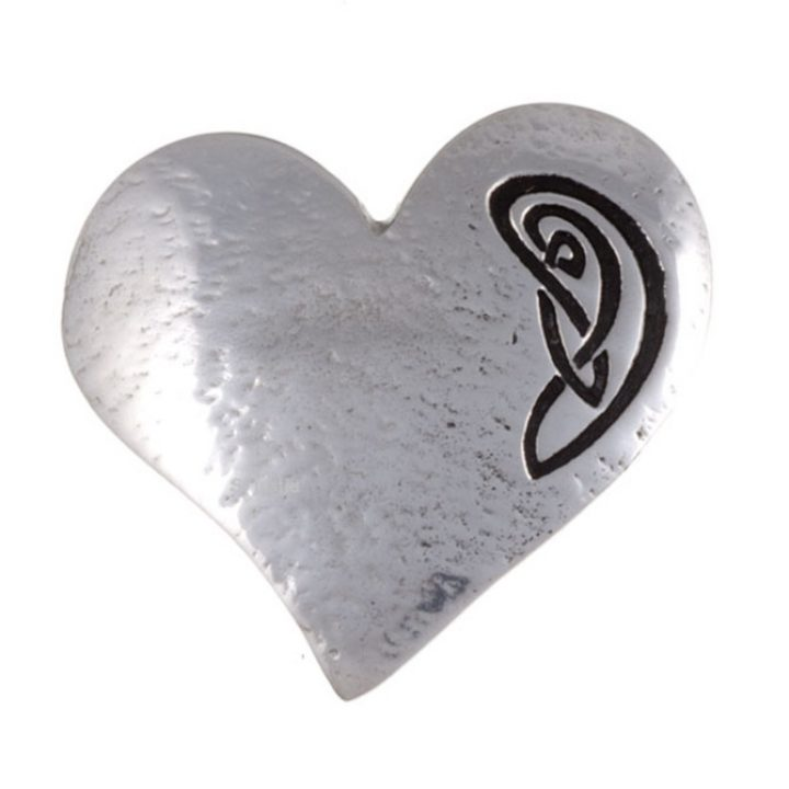 Celtic heart brooch SJ-PB163