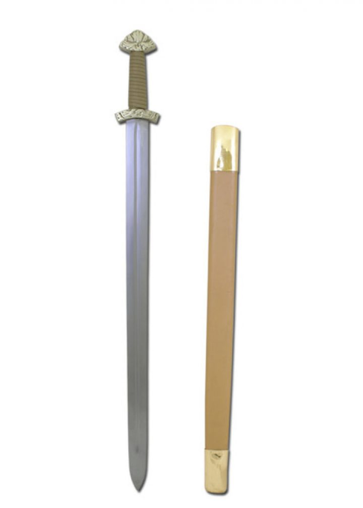 Viking Lang Zwaard 1000 n. Chr. ( deco )