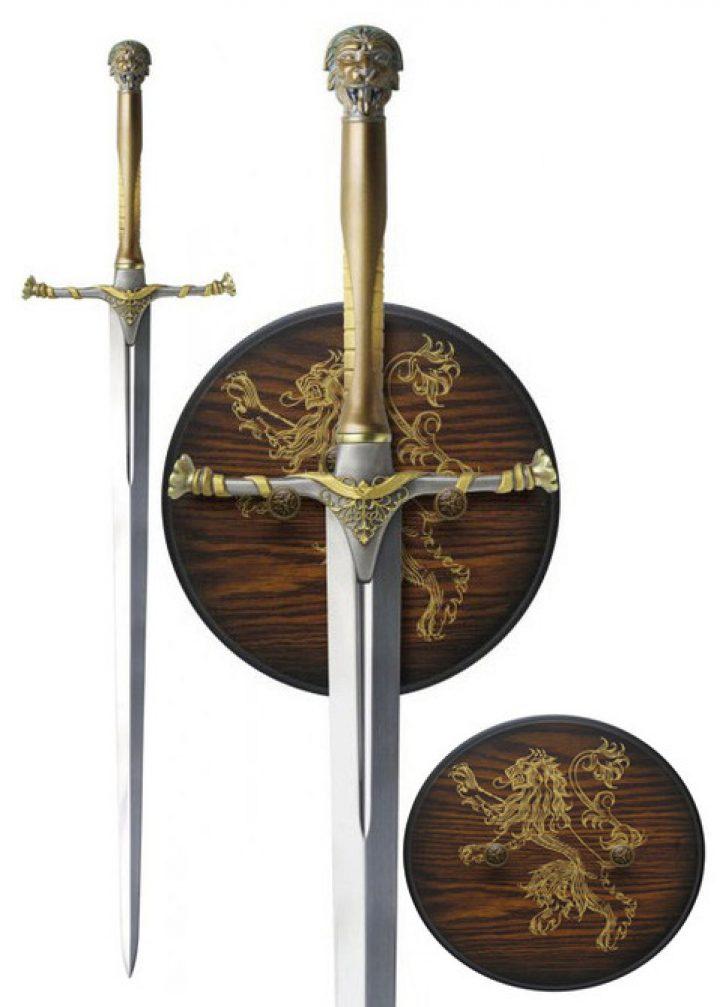 Game Of Thrones Jaimes Lannisters Zwaard