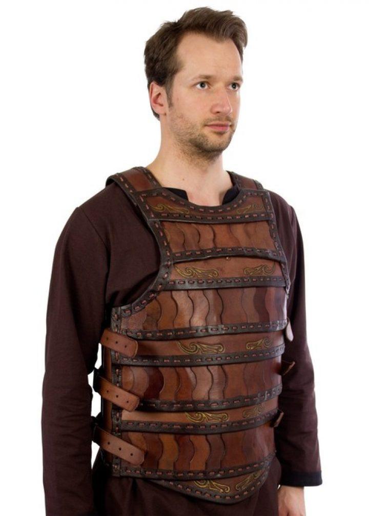 Keltisch Lederen Pantser Bruin
