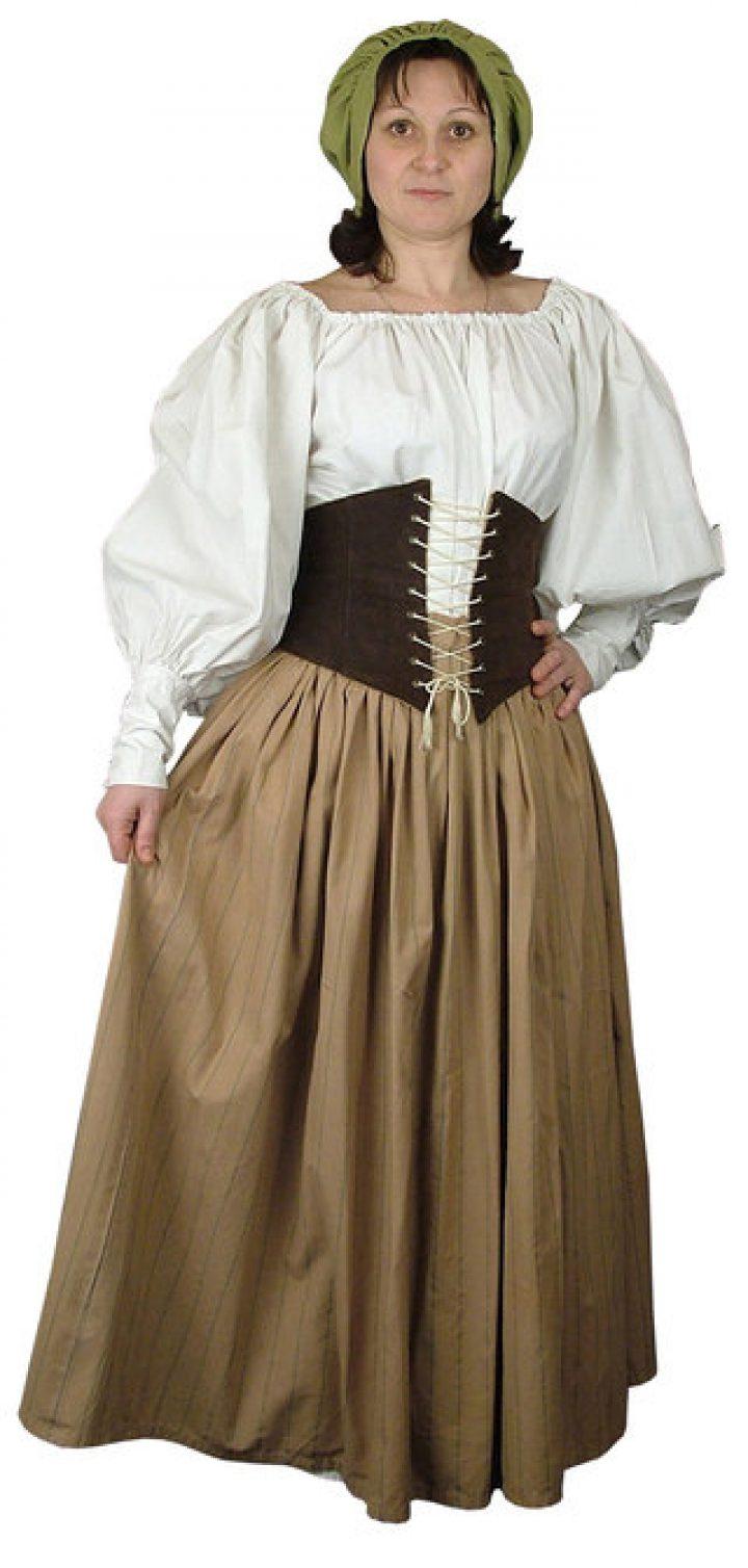 Middeleeuwse Gastvrouw Jurk