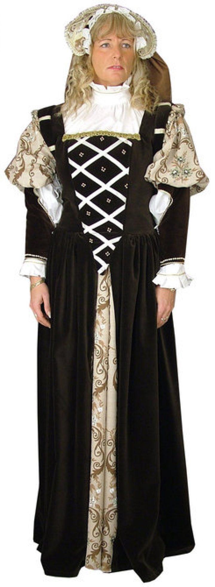 Middeleeuwse Duitse Renaissance Jurk