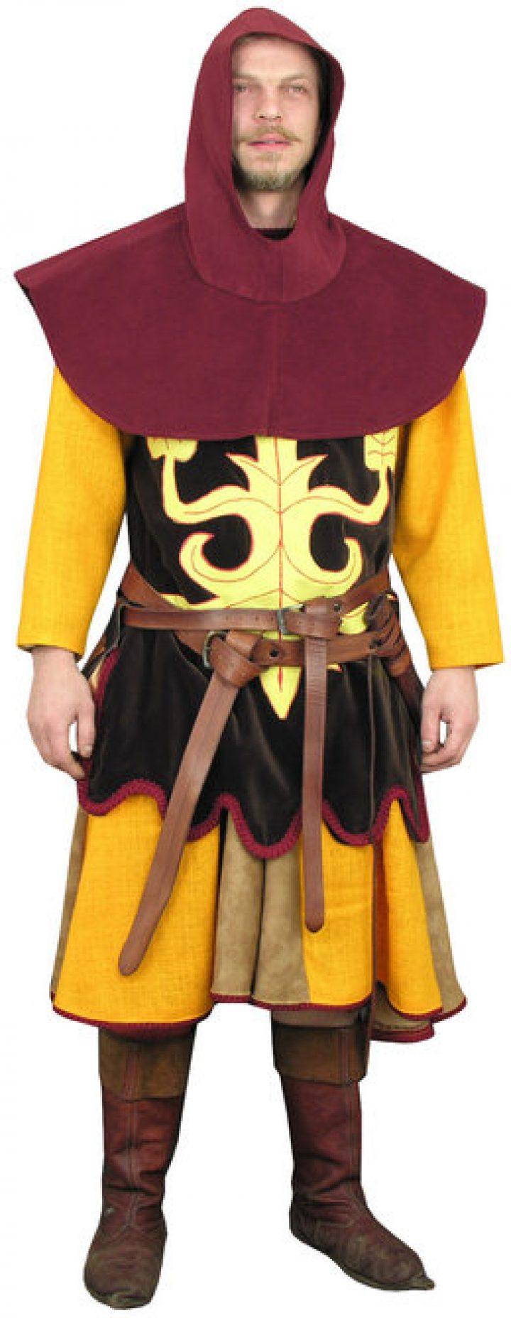Middeleeuws kostuum hvmna-1036