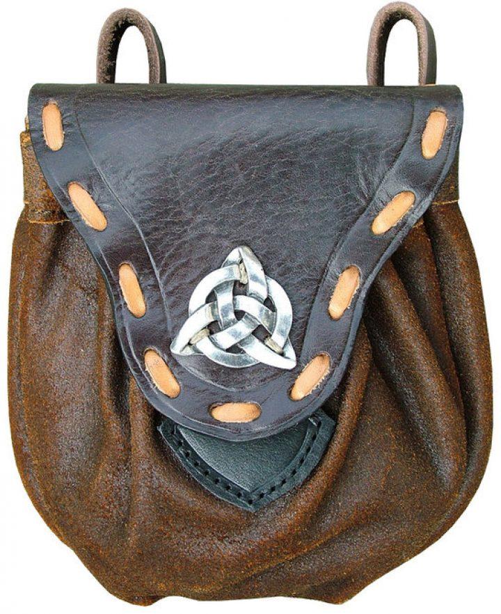 Mittelalter Tasche mit Keltischem Knoten