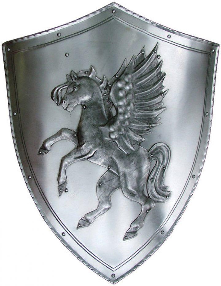 Dekoratie Schild met Vliegend Paard