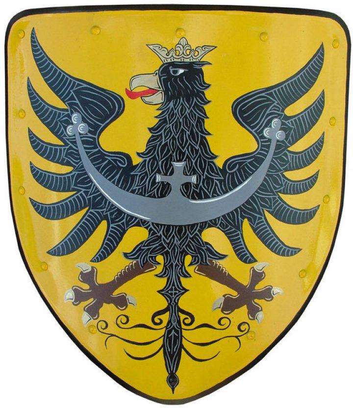 Mittelalterliche Wappenschild - Deko