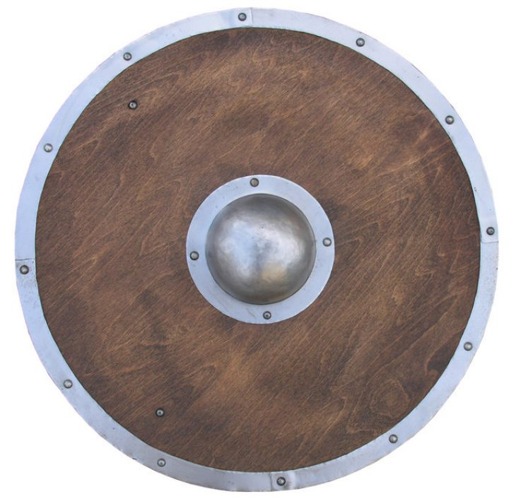 Battle Ready Viking Rond Schild