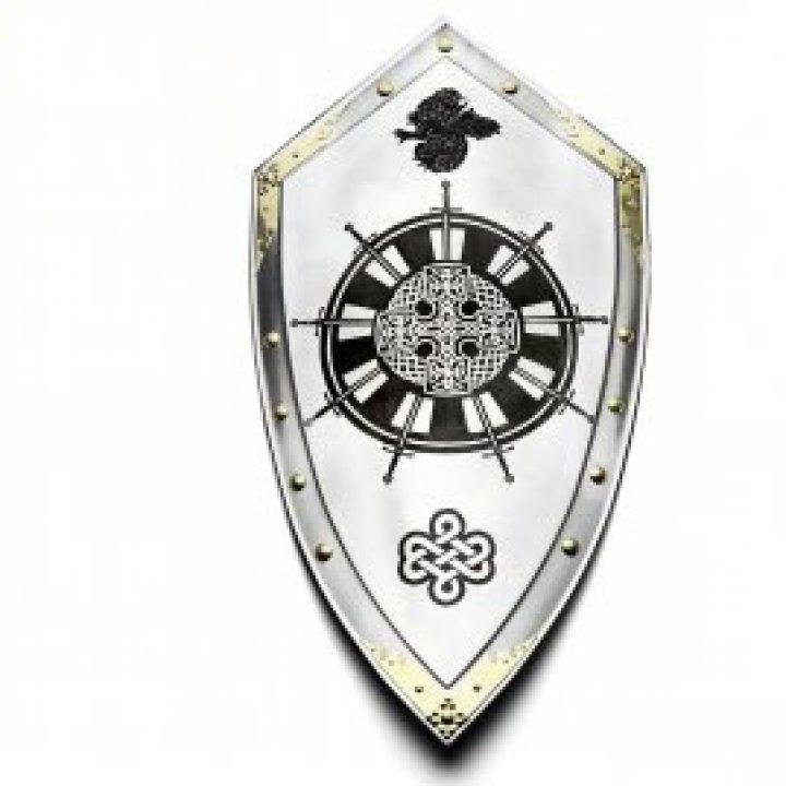 Ronde Tafel Koning Arthur.Schild Van King Arthur En De Ronde Tafel Dragonheart