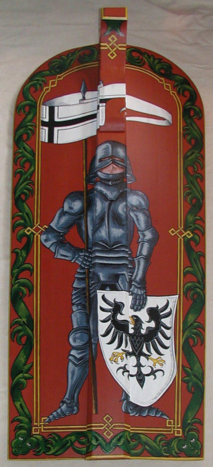Battle Ready Houten Langschild