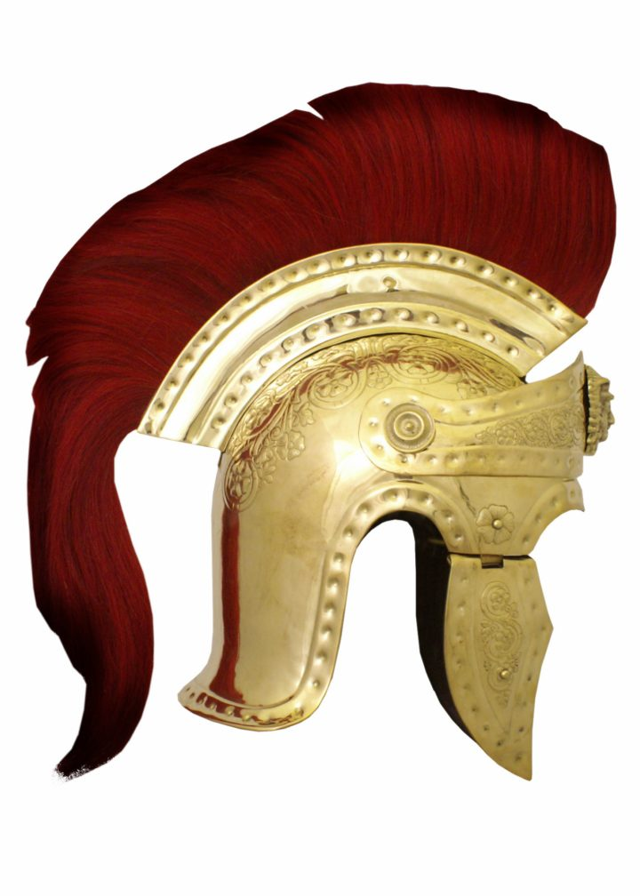 Romeinse Pratorianer-Garde Helm Messing