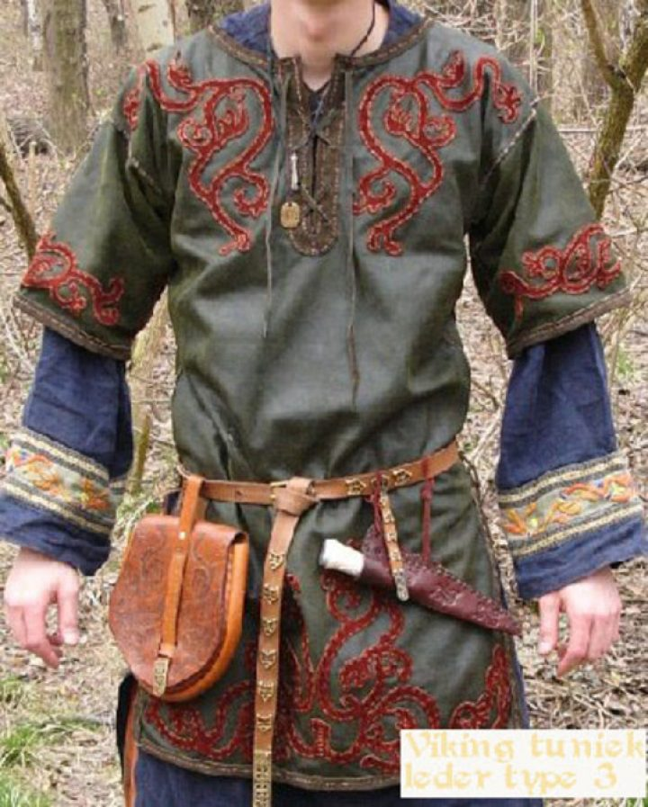 Viking tuniek leder wm type 3b