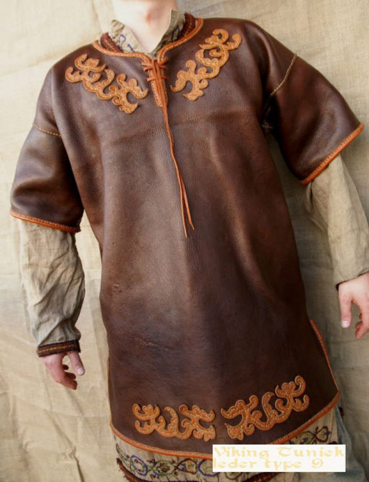 Viking tuniek leder wm type 9