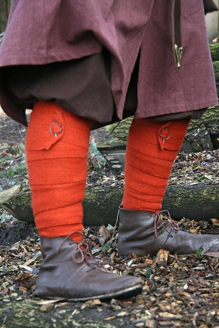 Viking Beenwikkel Visgraad Rood