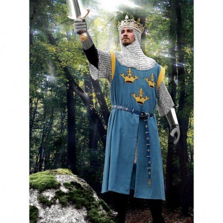 King Arthur Wapenrok in maat S/M ( Op is Op )