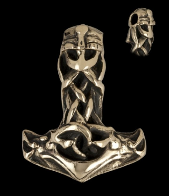 Viking Thor hamer - Mjölnir in Brons