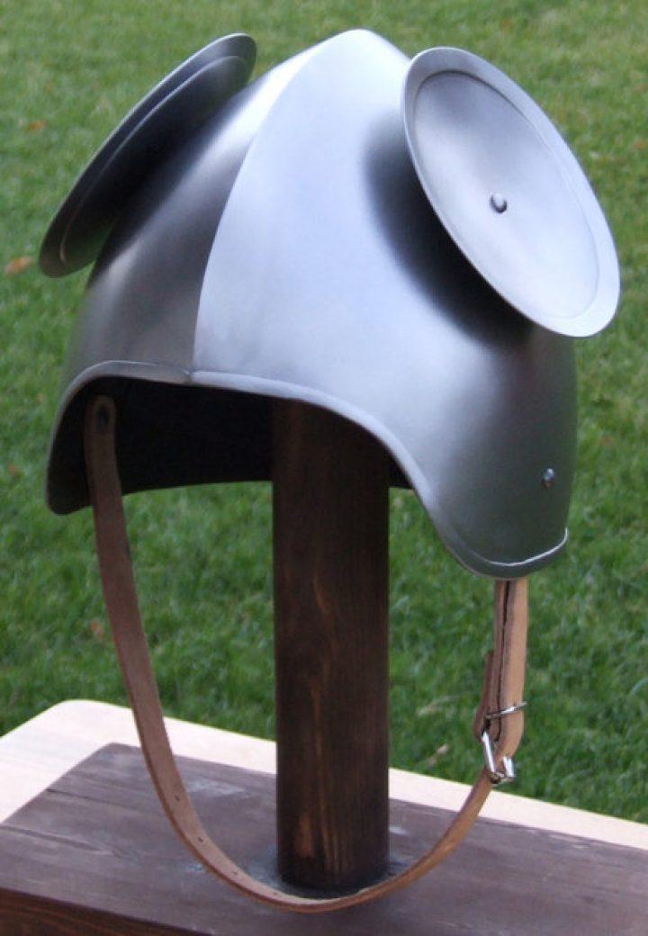 Sallet Helm met Schilden 15e eeuws
