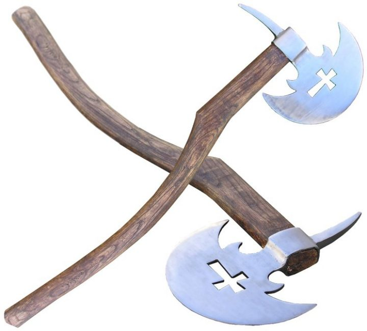 Tweehandige Germaanse Bijl - Axe
