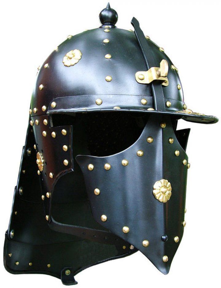 Burgunder Helm, sog. Pappenheimer
