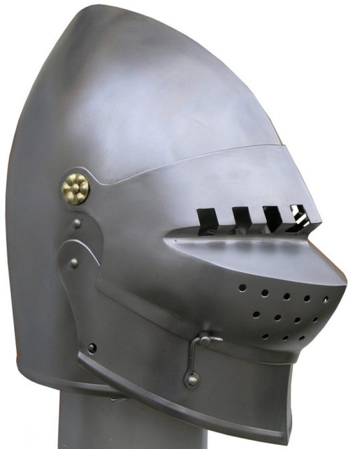 Basinet helm 14-15e eeuws