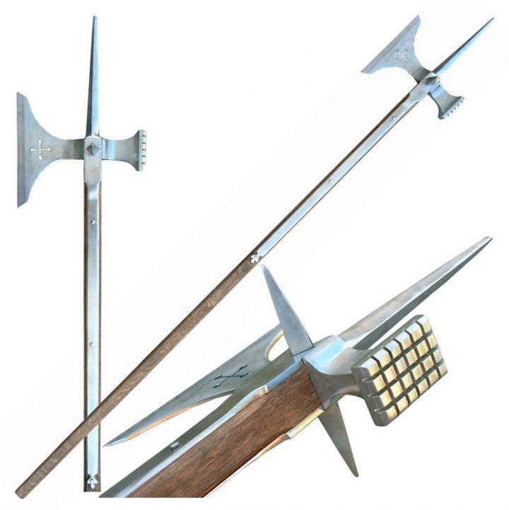 Pole Axe 14-16e eeuws 195 cm
