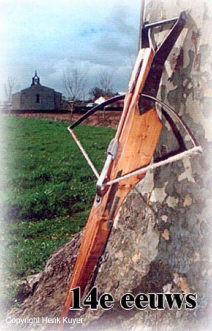 Armbrust 14.Jahrhundert Schlachten Armbrust