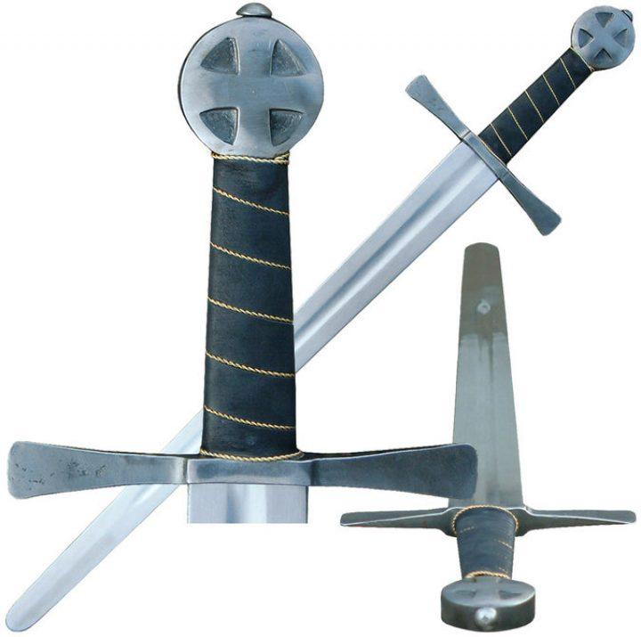 Mittelalter Bogenschutzer Einhander Schaukampf Schwert