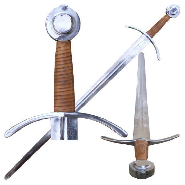 Mittelalter Einhander Schaukampf Schwert 14Jh. Klasse B.