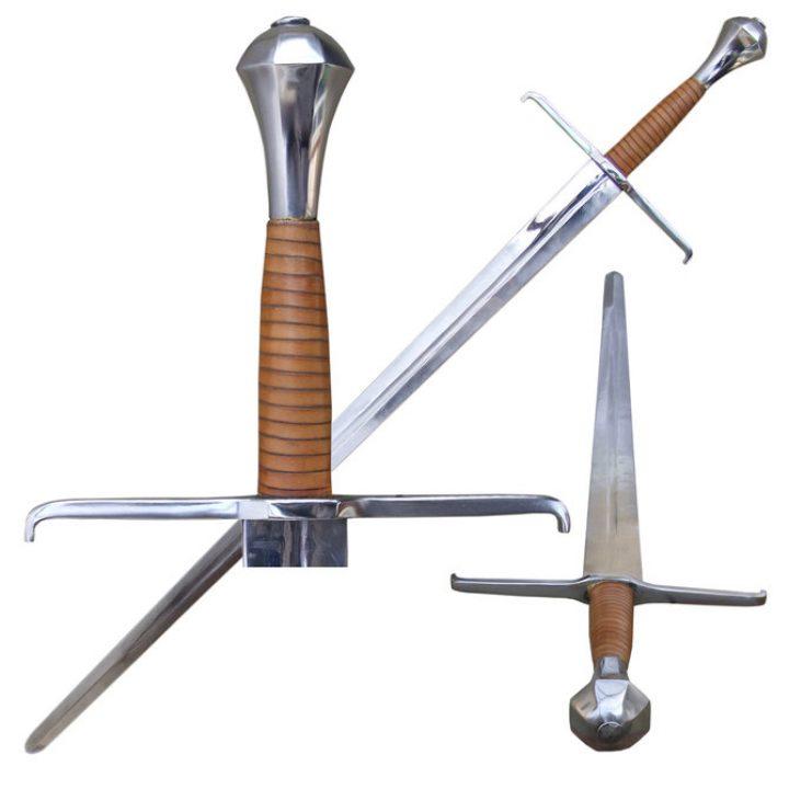 1 hand zwaard 13e eeuws