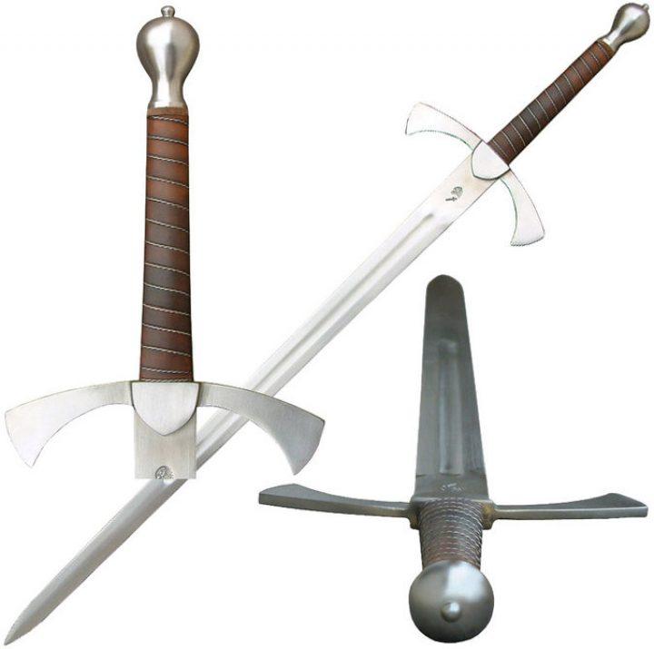 Mittelalter Anderthalbhänder Schaukampf Schwert